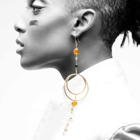 Adha Zelma Goldie Earrings