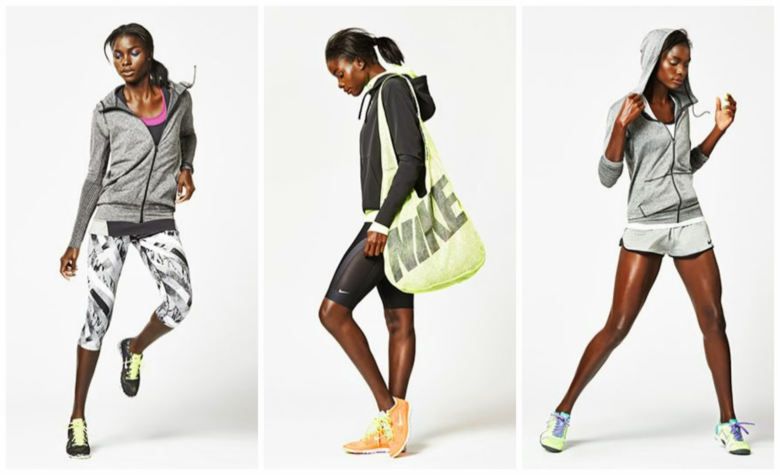 Fashion Meets Fitness Nike Spring 2014 Luxe Colore
