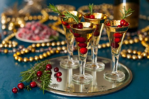 Holiday Cocktails - Luxe Colore