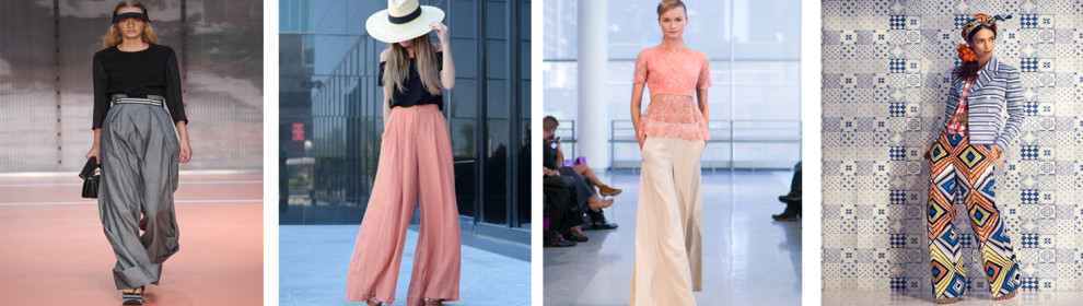 Luxe Colore - Wide Leg Pants
