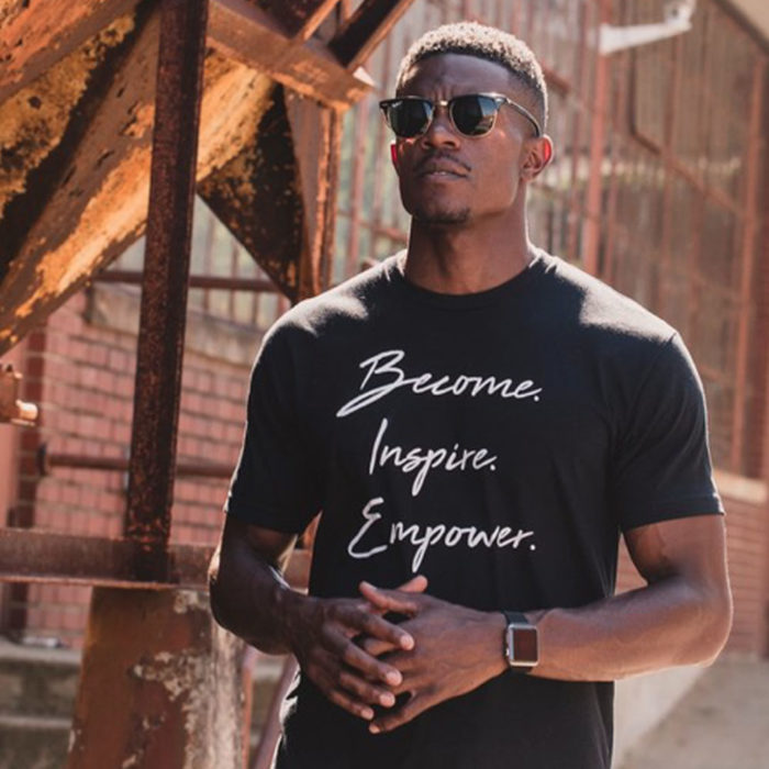 Curtis Wells - Become. Inspire.Empower. T-shirt